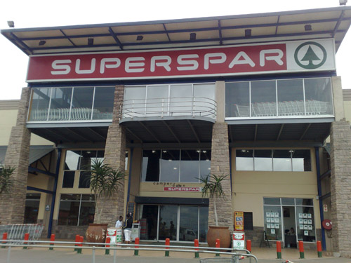 N3 City Shopping Mall - Spar Entrance