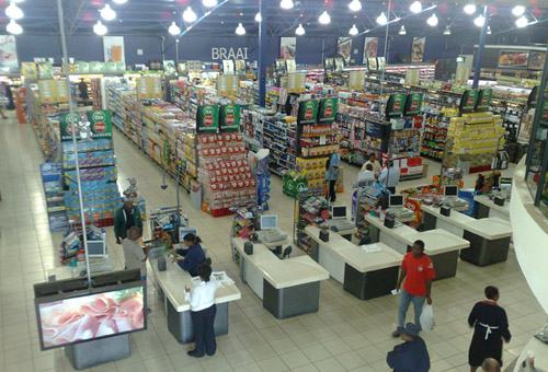 N3 City Shopping Mall - Over Head